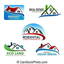 buildings, окна, мансарда, roofs, дом, главная