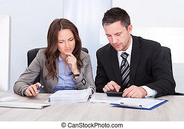 businesspeople, расчета, финансы