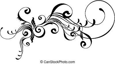 caligraphic, орнамент