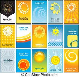 cards, лето, бизнес, themed
