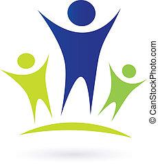 children, сообщество, -, взрослый