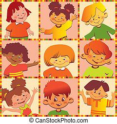 children., счастливый