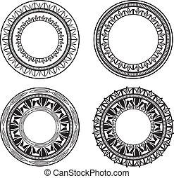 circles, богато украшенный