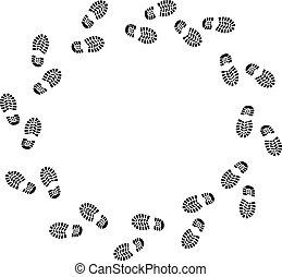 circles, ходить
