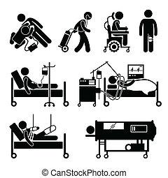cliparts, equipments, жизнь, поддержка