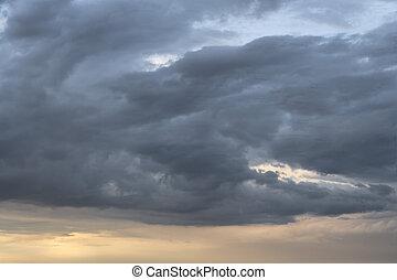 clouds, штормовой
