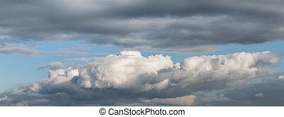 cloudscape, драматичный, площадь
