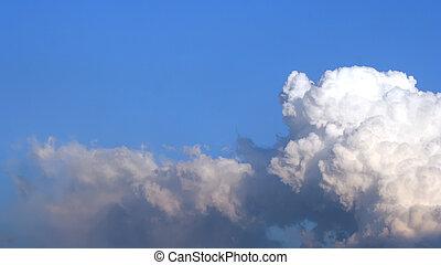 cloudscape, копия, пространство