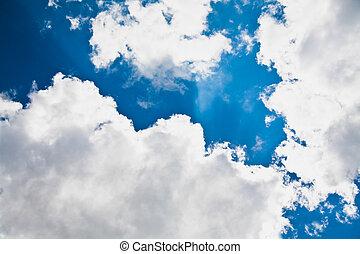 cloudscape, небо