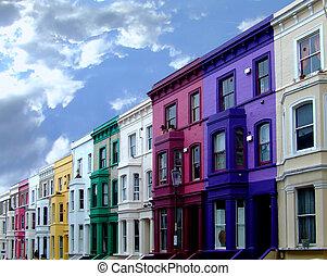 colorized, 2, buildings