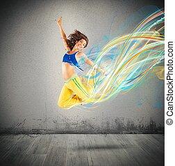 colors, танцор