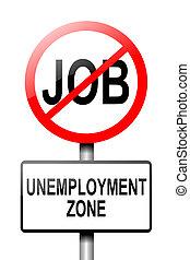 concept., безработица