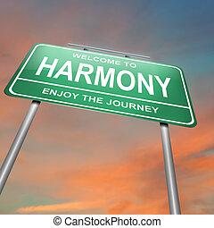 concept., гармония
