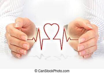 concept., здоровье, страхование
