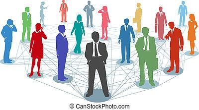 connections, люди, сеть, бизнес, соединять