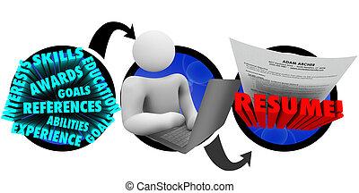 creating, как, продолжить, записывать, человек, steps, документ, лучший