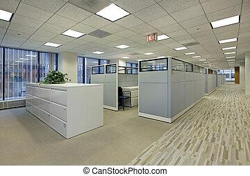 cubicles, офис, площадь