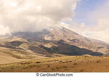 currently, вулкан, чимборасо, неактивный, strato