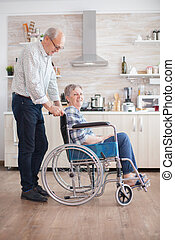 disability, жена, помощь