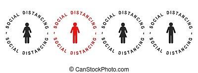 distancing, социальное
