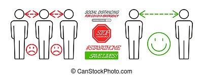 distancing, infographics, социальное