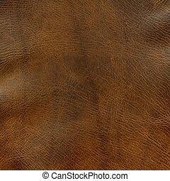 distressed, коричневый, кожа, текстура