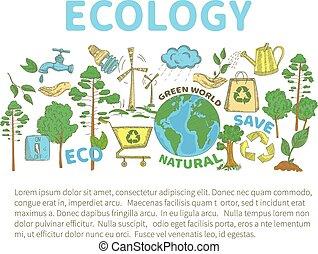doodles, экология, задавать