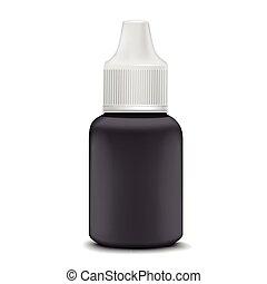drops, ухо, глаз, или, бутылка