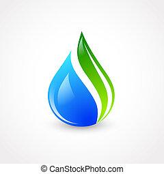eco, воды, падение