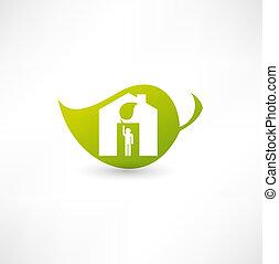 eco, главная, зеленый