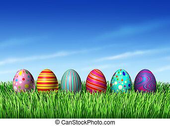 eggs, пасха