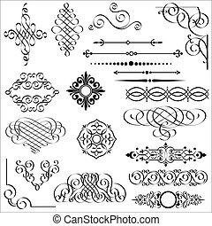 elements, дизайн, каллиграфический