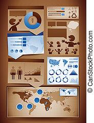 elements, дизайн, infographics