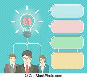 elements, идея, бизнес, infographics