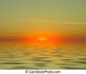 elements, нет, просто, закат солнца, безумно красивая, пейзаж