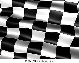 end-of-race, флаг