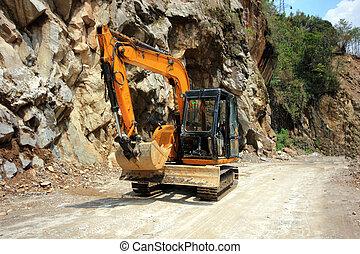excavators, строительство, машины, задавать, loaders, оборудование
