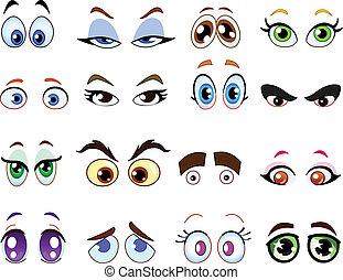 eyes, мультфильм