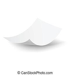 falling, бумага, sheet.