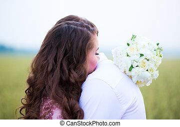 field., невеста, жених, мусульманка, marriage.