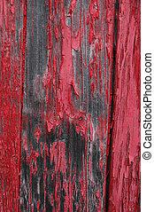 flaking, красный, покрасить