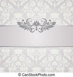 flor, абстрактные, свадьба, background., приглашение, цветочный, или, карта