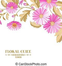 flowers., цветок, задний план, фиолетовый