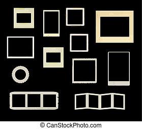 frames, марочный, вектор