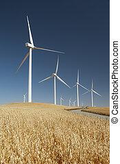 generating, windmills, мощность