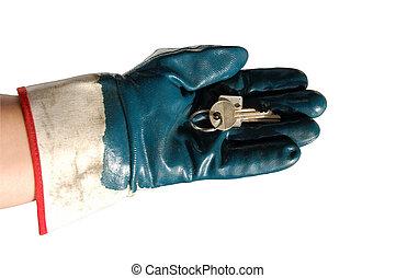 handing, над, ключ