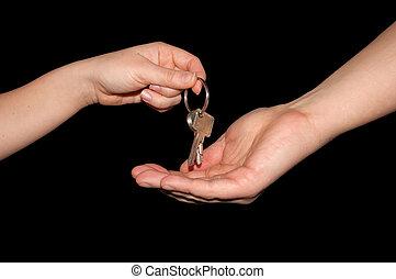 handing, просто, work!, над, clipping-path, isolated, keys, черный, включены, копия, вставить, ваш