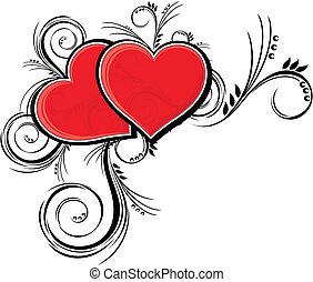 hearts, красота