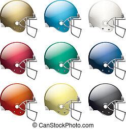 helmets, американская, футбол