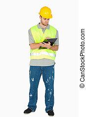 his, notes, буфер обмена, строительство, принятие, работник, молодой